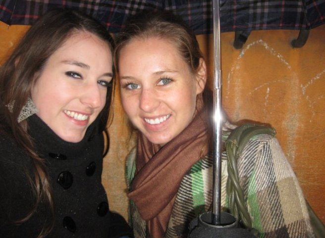 Karie and I in Rome