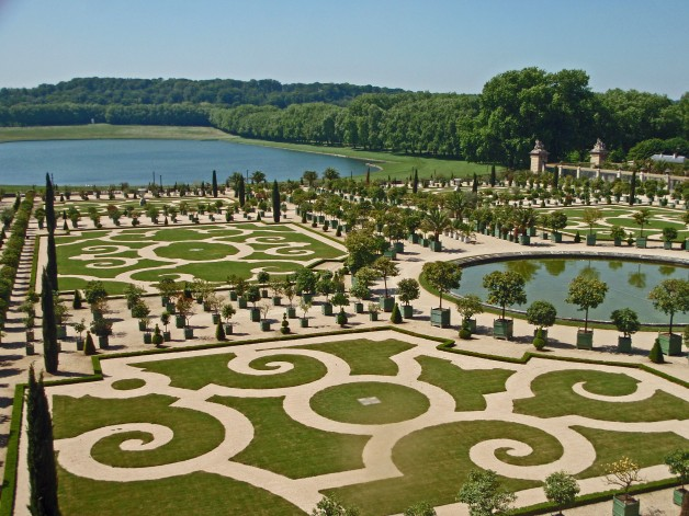 The beautiful gardens of Versailles