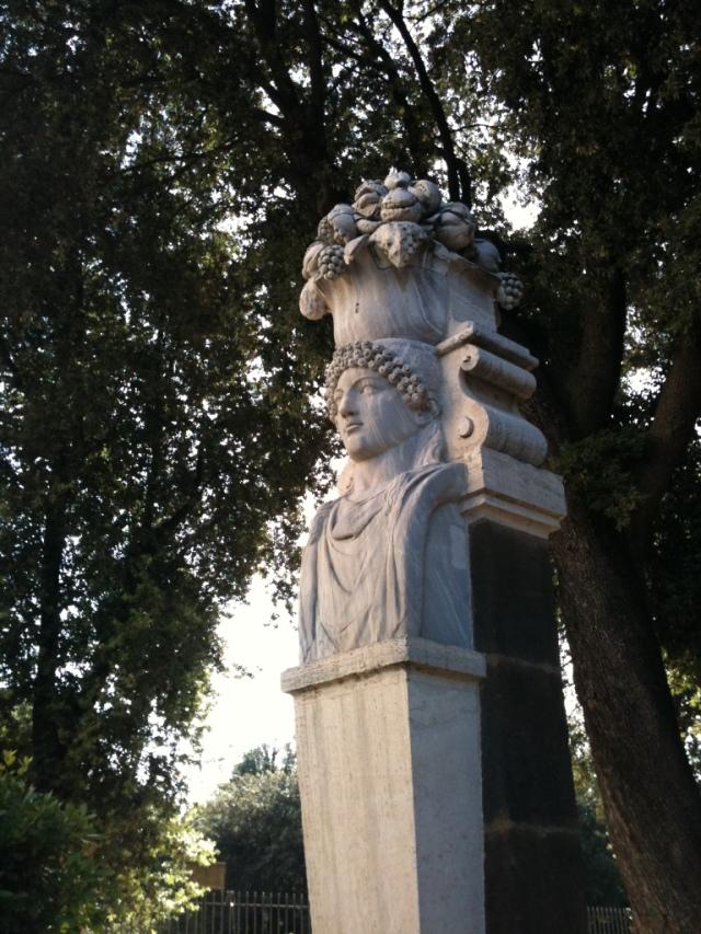 Herm in Villa Borghese