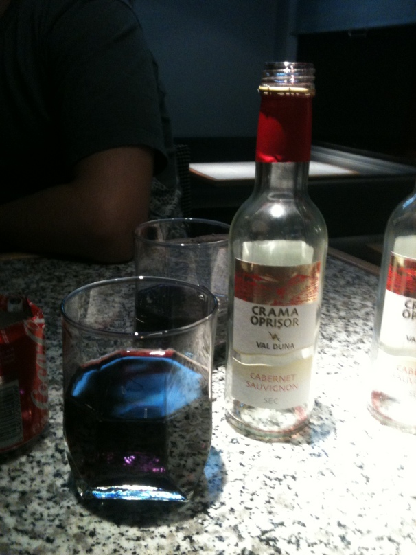 Wine on the Train