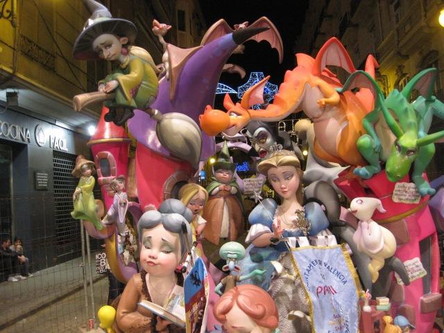 The Statues of Las Fallas