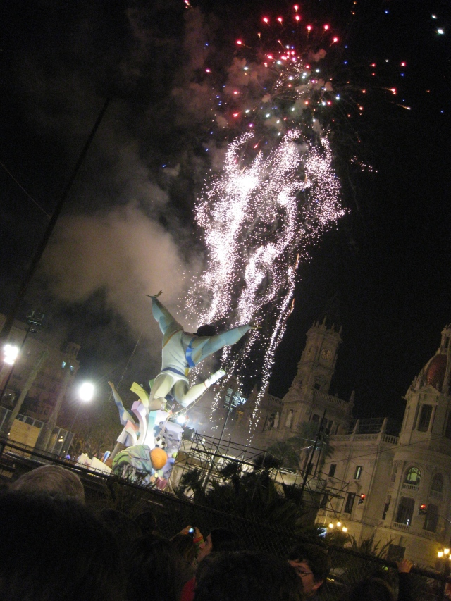 Fireworks at Las Fallas