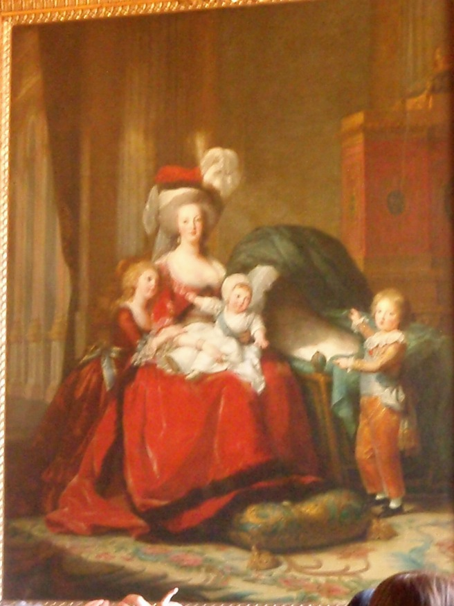 Marie Antoinette and her family