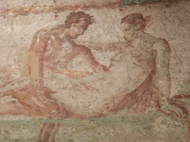 These two are actually still in Pompeii at the brothel