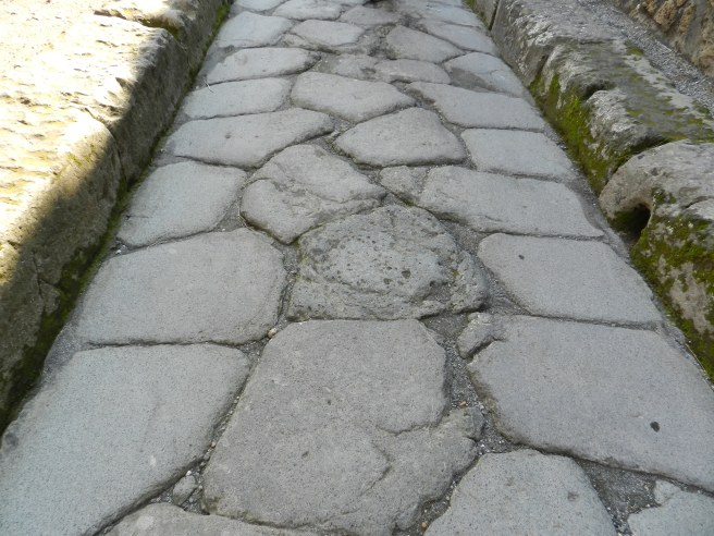 Original Streets of Pompeii