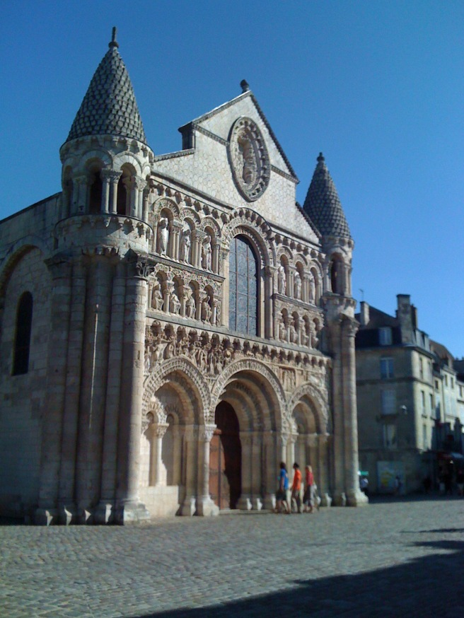 Church in Poitiers