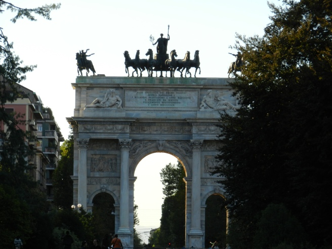 The Triumphal Arch, every city needs one of these