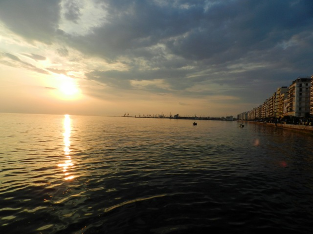 The Harbor in Thessaloniki