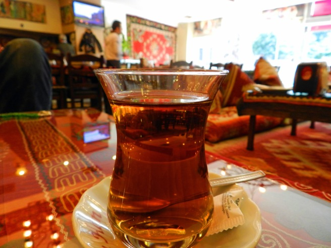 Apple Tea at an Ottoman Restaurant