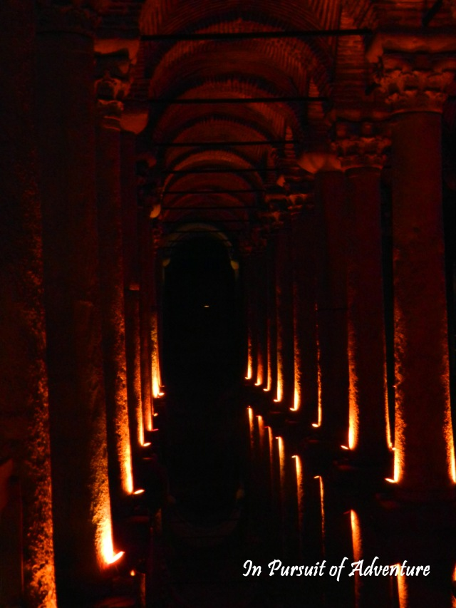 The Basilica Cistern is a hauntingly beautiful spot and don't miss the two upside down Medusa heads at the back