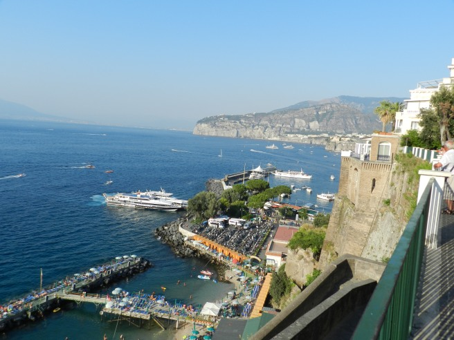 The beautiful cliffs of Sorrento