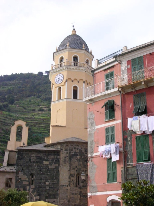The Clock Tower at Vernazza