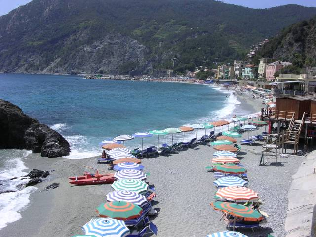The beach at Monterossa