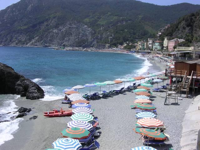 The beach at Monterossa