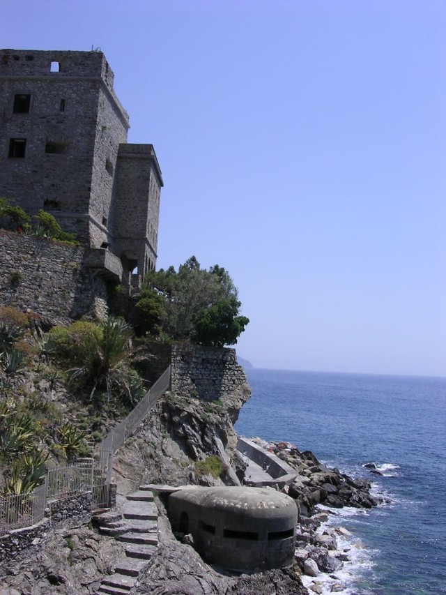 The coastline separating New and Old Monterossa