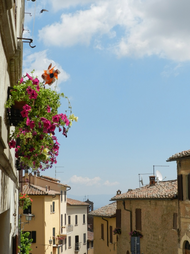 The Streets of Montepulciano