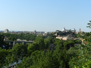 The view of Rome from the Orange Garden Rome City Profile