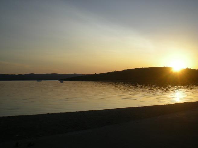 The Sunrise over Croatia