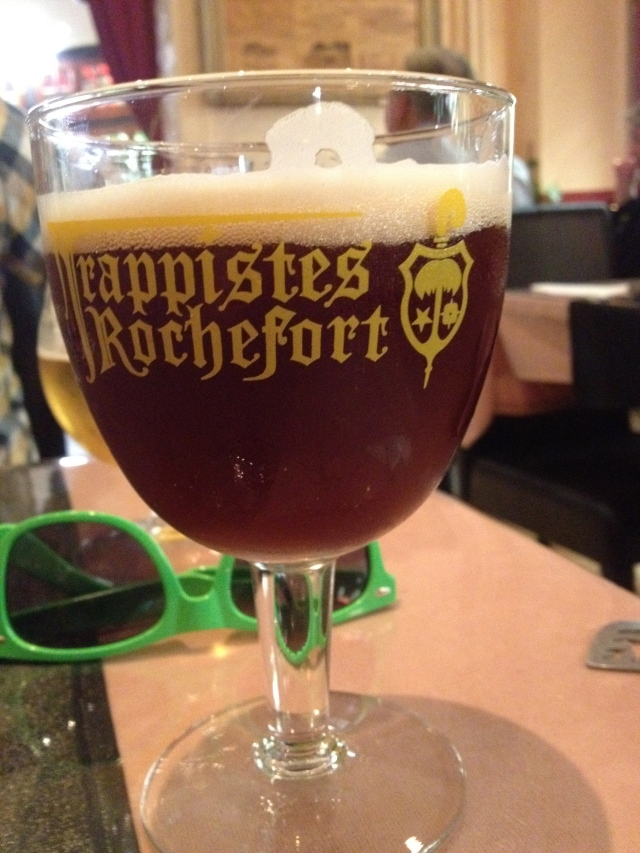Drinking in what Belgium does best