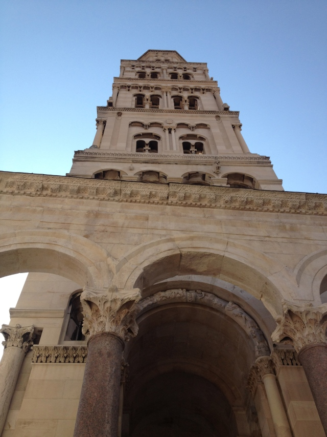 The Bell Tower in the Palace of Split