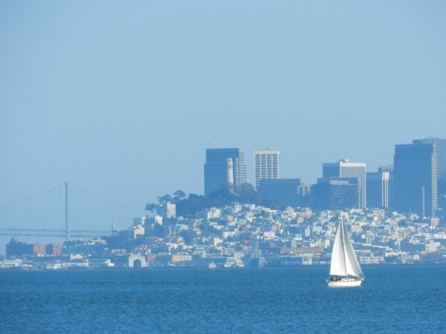Sailboats on the San Francisco Bay