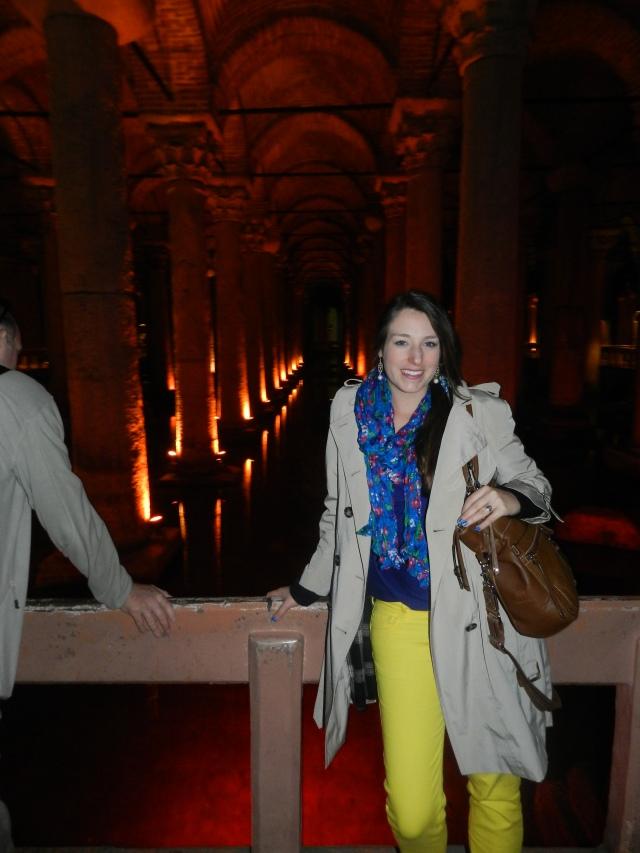 I love the Basilica Cistern!