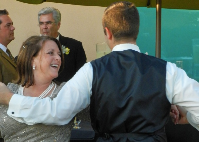 Me dancing with my Mom