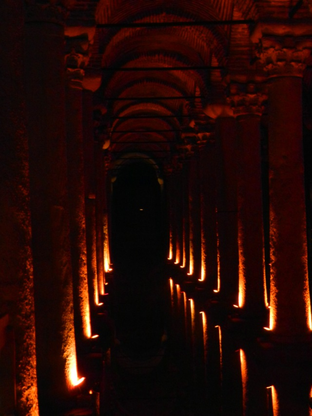 Collumns of the Basilica Cistern