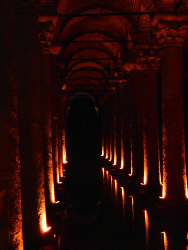 Collumns of the Basilica Cistern