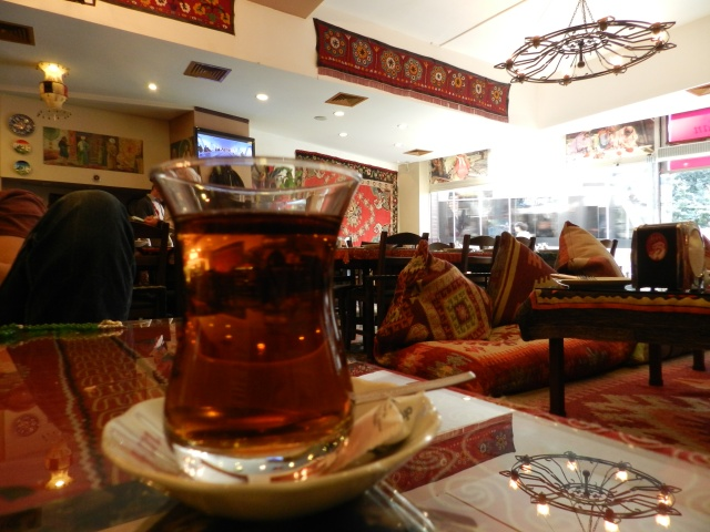 Apple Tea, the best beverage in Istanbul