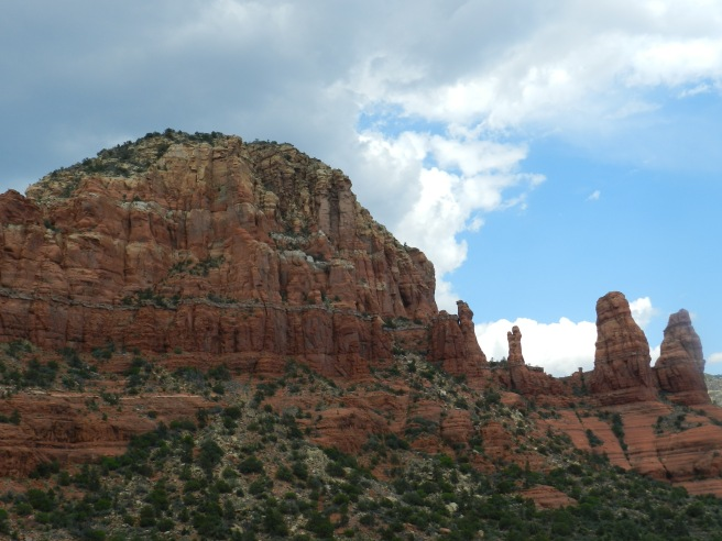 Clouds over the Red Rocks
