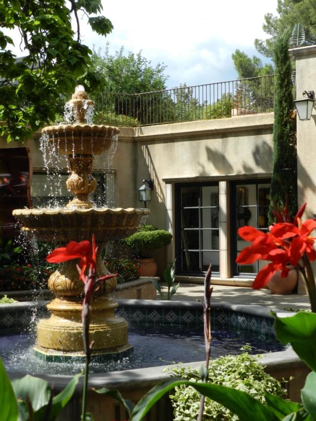 Fountain in Sedona