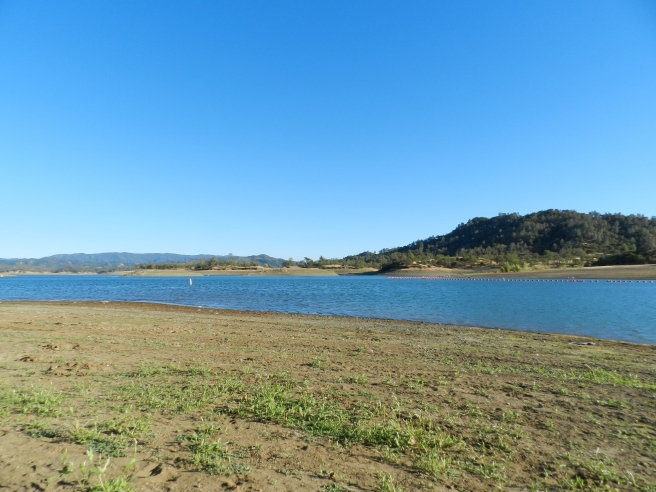 Lake Berryessa, in Sonoma County, is the perfect spot to spend a relaxing day with a bottle of wine