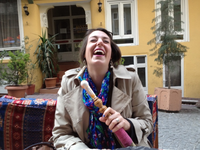 A little hookha and a little apple tea makes for a perfect afternoon in Istanbul