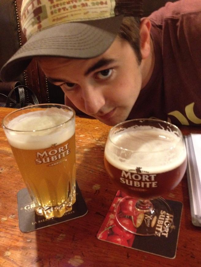 Delcious Fruit Beers at Mort Subite
