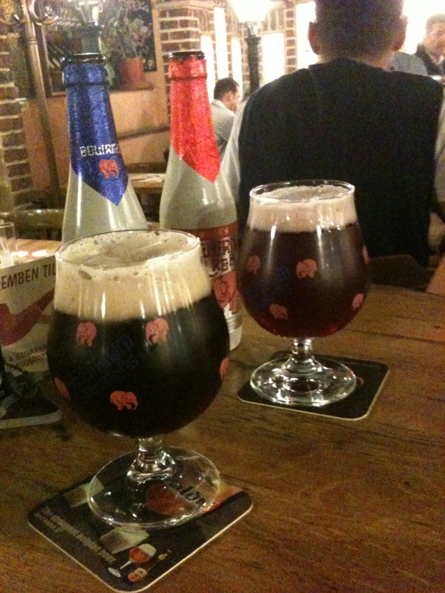 Delirium warms the soul in the fall, especially their delirium red, the best cherry beer in the world