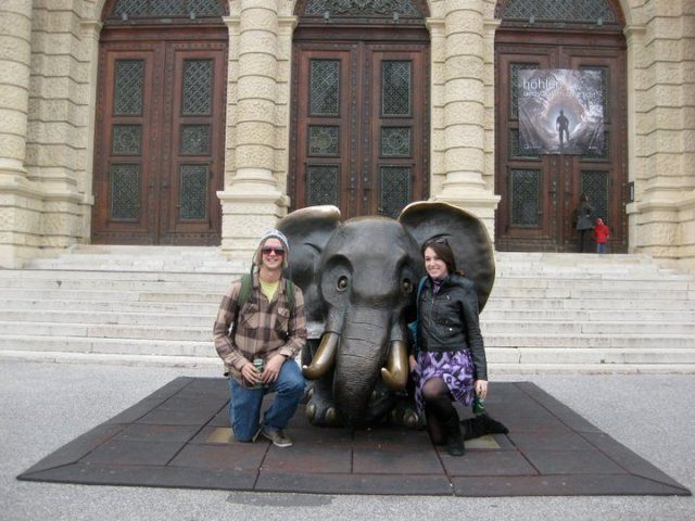 Hanging out in Vienna with the Elephant