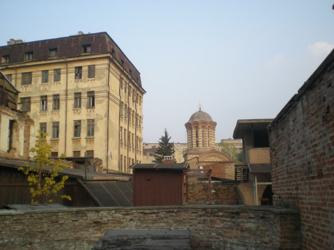 The View of Bucharest from Vlad's Castle