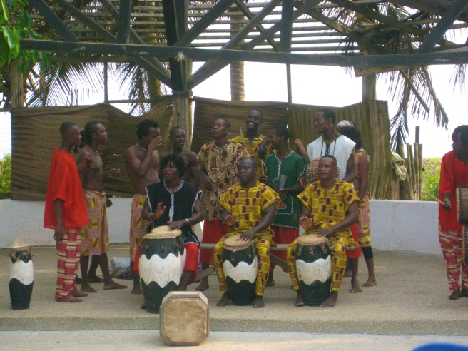 Traditional Ghanaian Music! It was Amazing!