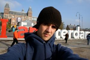 Alex in Amsterdam