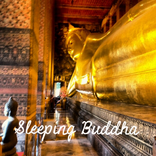 The Sleeping Golden Buddha at Wat Pho in Bangkok