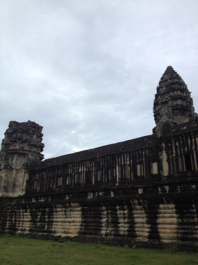 Angkor Wat is a massive Buddhist temple that has been in continually use since the 600s CE