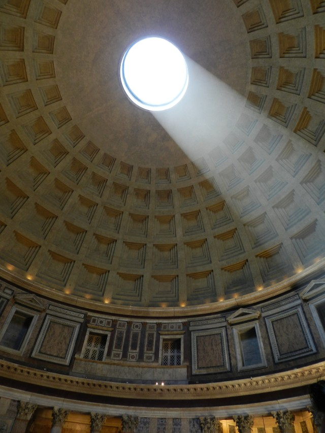One of the greatest buildings ever constructed, the Pantheon
