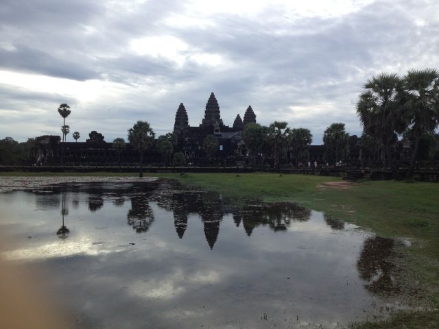 2013 brought us amazing things, such as the sunrise over Angkor Wat.  It has been a dream of mine to go since before I can rememeber