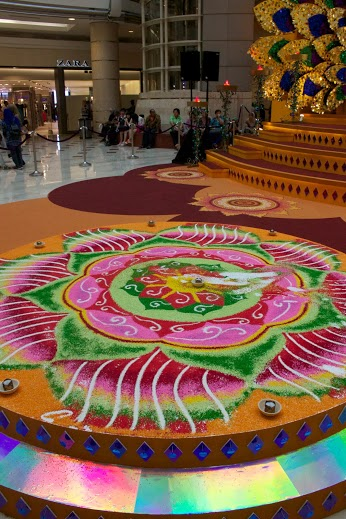 Celebrating Deepavali in KL