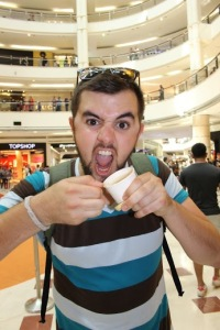 Kuala Lumpur, The Land of a Thousand Malls Where Alex discovered Durian ice cream