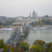 The Ruin Pubs of Budapest Széchenyi Chain Bridge over the Danube
