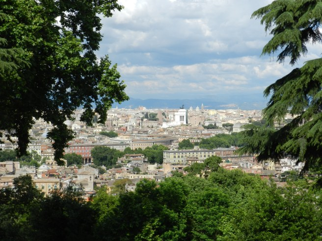 The sprawling city of Rome