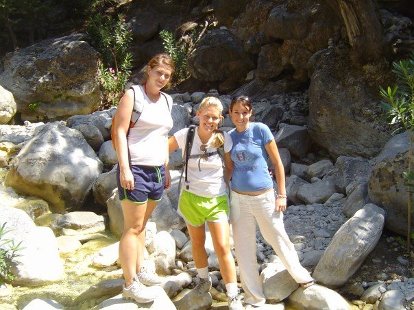 I was famous for tramping around Crete in impractical clothing.  White linen pants to visit an archaeological dig, why not?