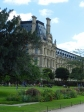 Wandering the Jardin des Tuileries with the Tulieries Palace in the background